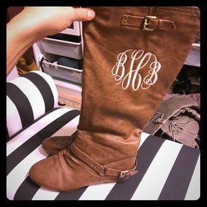Monogrammed Boots BHB